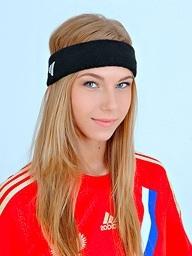 Soccer underwriter Abby Anjelica stash abundance..