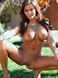 Brunette hair sweetheart Madison Ivy disrobes off her..