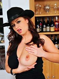 Big Czech tits, wine bottles, and outrageously hot..