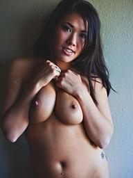 Asian, London Keyes, with large natural pantoons..