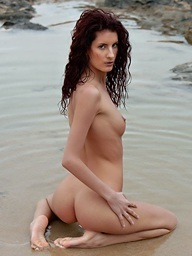 Leanna is amazing redhead with long legs and slender..