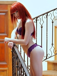 Redhead Elle Alexandra is ergo hot increased by..