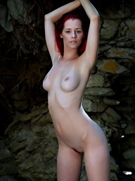 Redhead babe fro nice..