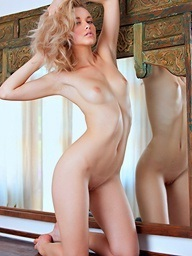 Hot comely fair-haired..