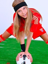 Soccer underwriter Abby..