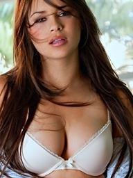Nina James shows off..