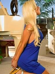 Marlena Milanne Sexy Blue