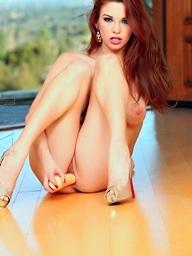 Redhead Sabrina Maree..