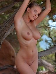Breasty babe Janine..